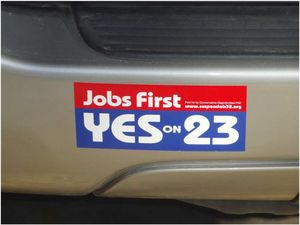 Prop23bumpersticker
